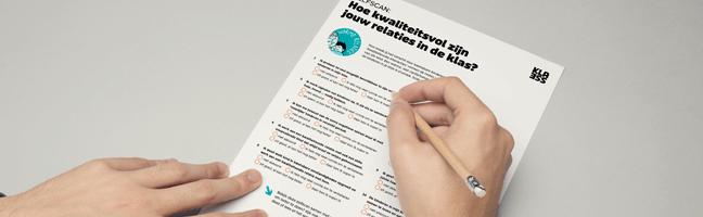 packshot Klik en Print 'Hoe kwaliteitsvol zijn jouw relaties in de klas'