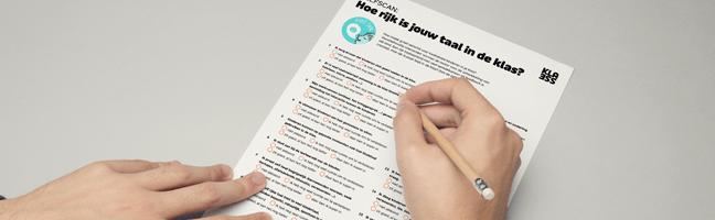 packshot Klik en Print 'Hoe rijk is jouw taal in de klas?'