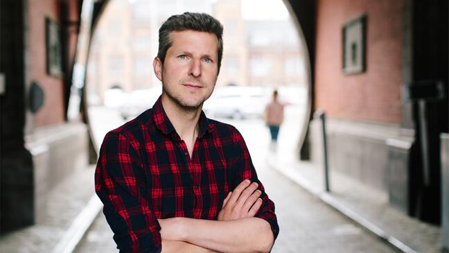 NT-2 docent Peter Vervaet
