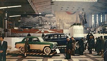 foto van expo 58 aan het atomium