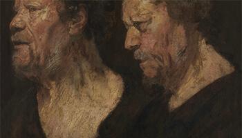 installatie van Luc Tuymans voor Antwerpen Barok