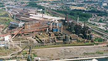 site van de fabrieken van 'Boël'