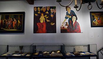 beelden uit de expo 'ontmoeting en contrast'