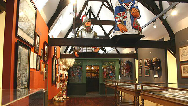 foto van museum 't gasthuys in Aalst