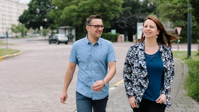 Ruben Vanderlinde en Katrien Van Laere