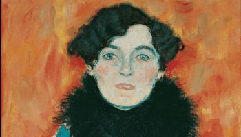 schilderij van vrouw