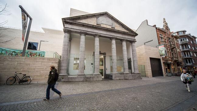 foto van het museum M in Leuven
