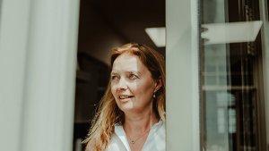 portret Sigrid Van Liedekerke, docent Frans aan de lerarenopleiding HoGent