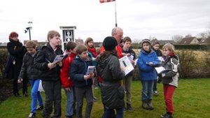 schoolkinderen bezoeken meteo Tollembeek