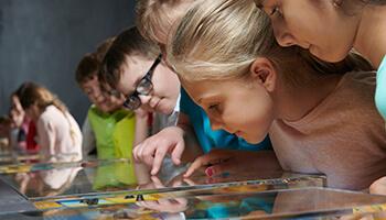 kindjes in het Yper museum