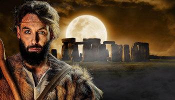 Man voor Stonehenge-site