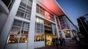 ingang Kanal - Centre Pompidou