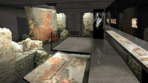 archeologische site van het Teseum