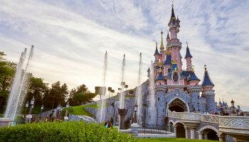 kasteel van Disneyland Paris