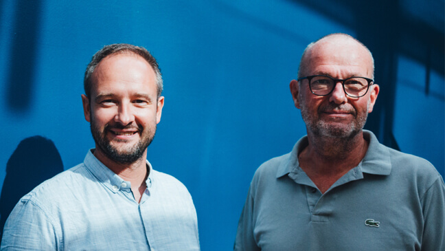 Onderzoekers Joeri Minnen en Ignace Glorieux