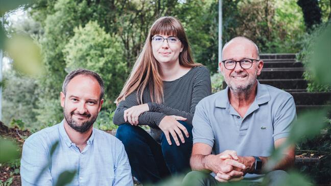 onderzoekers Joeri Minnen, Ignace Glorieux en Julie Verbeylen