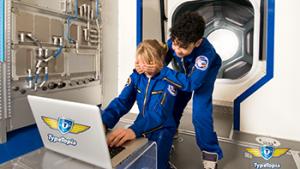kinderen spelen op laptop