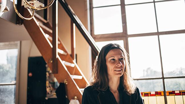 pedagogische directeur Katrien Lambrecht over warm zorgbeleid