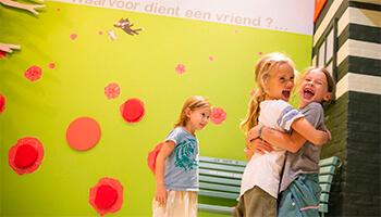 kindjes in het kindermuseum