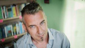 portret Bert Leysen, leraar van het knelpuntvak nederlands