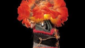 Inca popje met folkloristische klederdracht