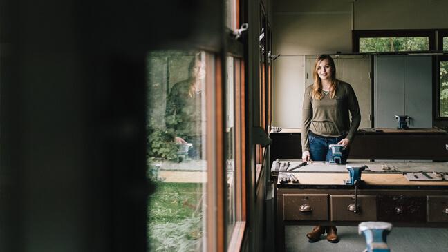 meisjes en STEM: Lieselot Van Gysel, leraar Mechanica