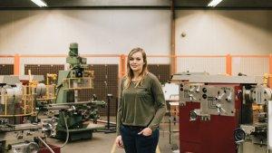 Leraar Mechanica Lieselot van Gysel wil meer meisjes in STEM en technische richtingen