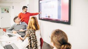 leraar Ignace startte samen met het datateam een onderzoek op