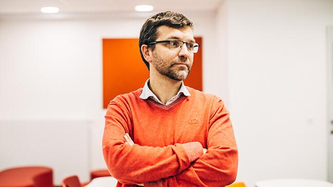 portret leraar Ignace