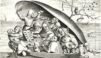zwart-witprent in de eeuw van Bruegel