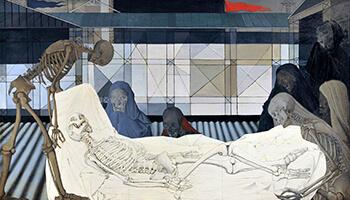 Schilderij van Paul_Delvaux