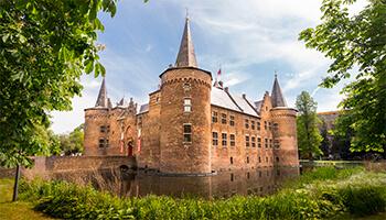 foto van kasteel helmond