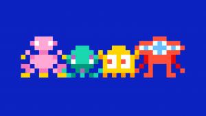 programmeren in de klas voor dummies: pixel-monster