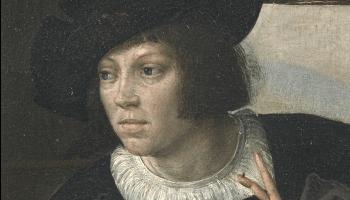 schilderij Job en Lazarus