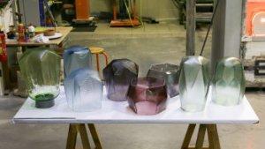ontwerpen van glazen voorwerpen