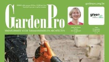 deel van cover van tijdschrift GardenPro