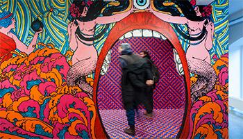beeld uit de expo 'dream box'