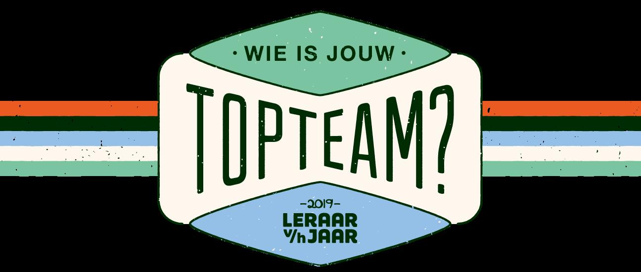 Leraar van het Jaar 2019: Wie is jouw topteam?