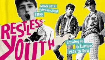 3 jongeren op affiche van 'Restless youth'