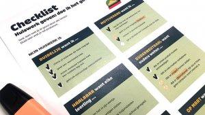 Checklist huiswerk