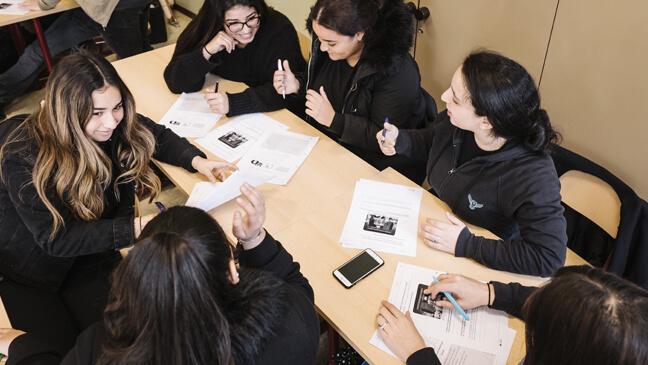 Leerlingen van het avAnt Provinciaal Onderwijs