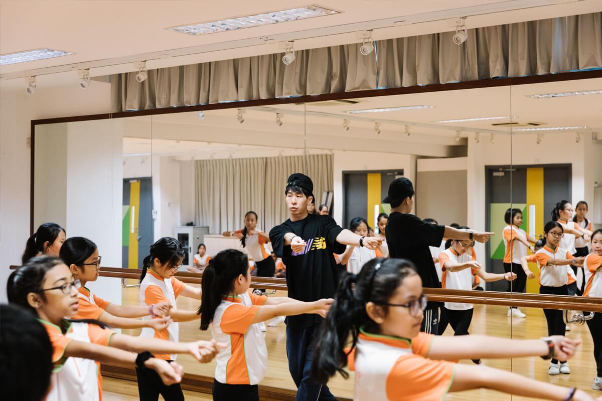 Leraren evalueren het kind in al zijn interesses en talenten.