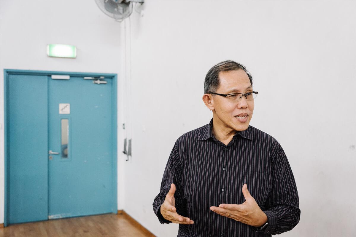 """directeur Peter Tan: """"Excelleren vraagt een gezonde dosis stress."""""""