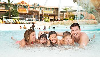 gezin in aqualibi