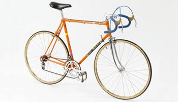 Oude Merckx fiets
