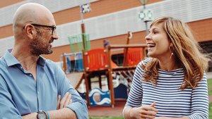 Portret Kjell Bosmans (directeur-coördinator) en Lore Meganck (beleidsmedewerker professionalisering)