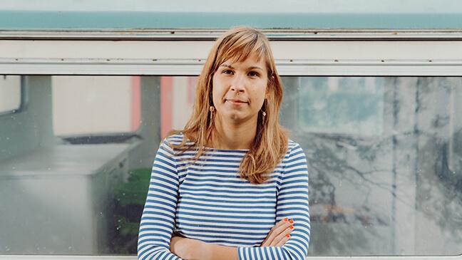 Portret Lore Meganck (beleidsmedewerker professionalisering)