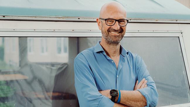 Portret Kjell Bosmans (directeur-coördinator)