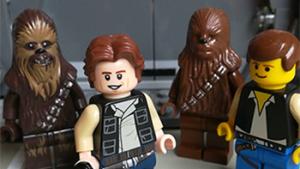 Lego-figuurtjes uit Star Wars