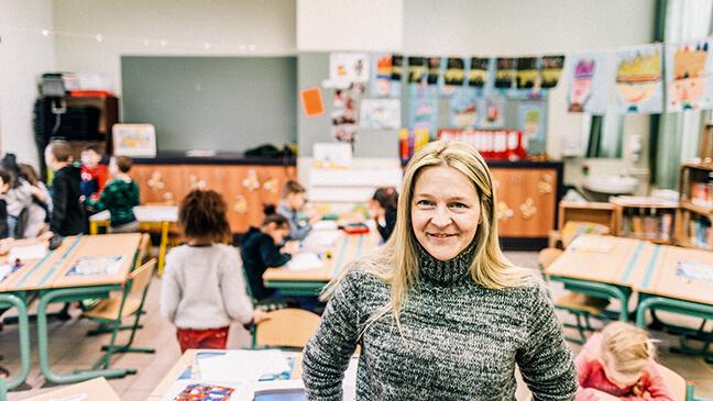 Petra, leraar eerste leerjaar